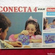 Juegos de mesa: ANTIGUO JUEGO DE MESA CONECTA 4, EDICIÓN VIAJE DE LA CASA FALOMIR. AÑOS 80.. Lote 169392633