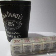 Juegos de mesa: DADOS POKER JACK DANIELS TENNESSE WHISKEY. Lote 169670464