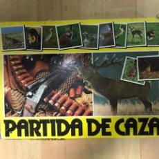 Juegos de mesa: ¡¡UNICO!!! JUEGO: PARTIDA DE CAZA.. Lote 169684976