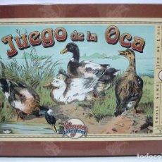 Juegos de mesa: JUEGO DE LA OCA DE CAYRO COLLECTION REPRODUCCIÓN LIMITADA AÑOS 20 IDEAL PARA COLECCIONISTA. Lote 169759260
