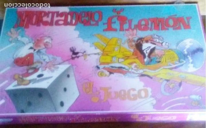 MORTADELO Y FILEMON EL JUEGO (CASA FALOMIR) AÑOS 90 (Juguetes - Juegos - Juegos de Mesa)