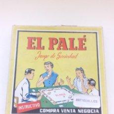 Juegos de mesa: EL PALE-JUEGO MESA ANTIGUO-SIMILAR MONOPOLY,HASBRO,MB,CEFA.. Lote 169897216