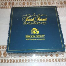Juegos de mesa: JUEGO DE MESA TRIVIAL PURSUIT EDICIÓN GENUS, AÑO 1992. Lote 169922776