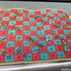Juegos de mesa: TABLERO ESCALERAS JUEGOS REUNIDOS. Lote 169931686