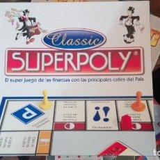 Juegos de mesa: JUEGO DE MESA SUPERPOLY CLASSIC (2.006) DE FALOMIR. Lote 169968408
