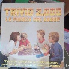 Juegos de mesa: TRIVIO 2000. LA FUERZA DEL SABER. FALOMIR JUEGOS.. Lote 169968496