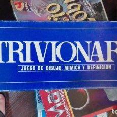 Giochi da tavolo: TRIVIONARY JUEGO DE DIBUJO MIMICA Y DEFINICION FALOMIR CINCO ESTRELLAS. Lote 169968792