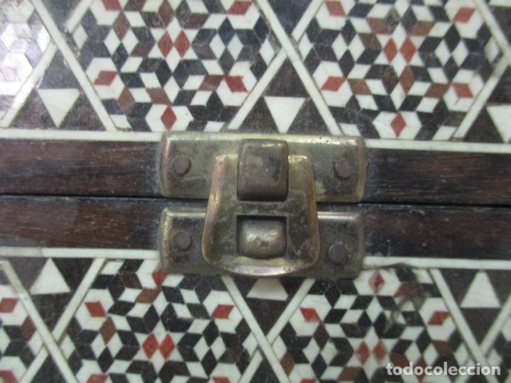 Juegos de mesa: Caja de Madera, Diferentes Maderas y Hueso - Tablero - Juego de Ajedrez, Damas, Backgamon - Foto 8 - 170153480