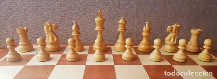 Juegos de mesa: Ajedrez Staunton Clásico con Tablero / Caja plegable de Madera - Foto 3 - 170251078