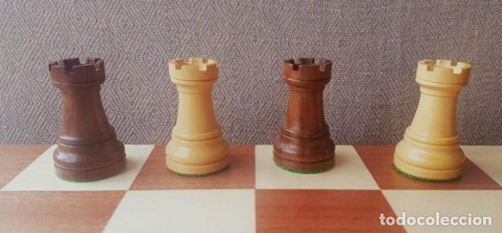 Juegos de mesa: Ajedrez Staunton Clásico con Tablero / Caja plegable de Madera - Foto 9 - 170251078