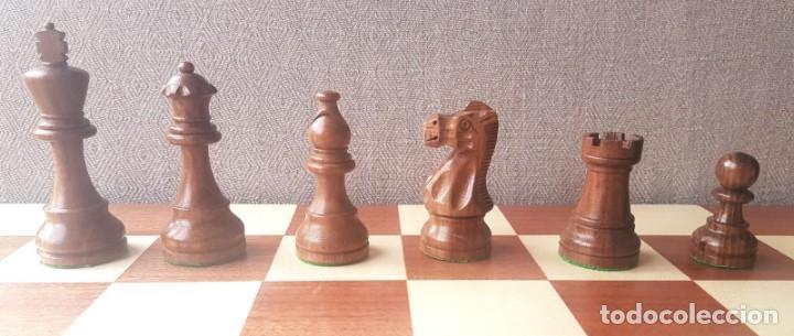 Juegos de mesa: Ajedrez Staunton Clásico con Tablero / Caja plegable de Madera - Foto 10 - 170251078