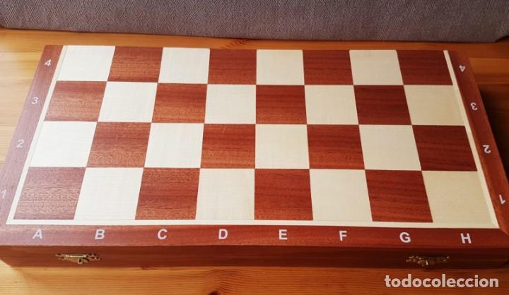 Juegos de mesa: Ajedrez Staunton Clásico con Tablero / Caja plegable de Madera - Foto 11 - 170251078