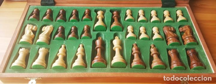 Juegos de mesa: Ajedrez Staunton Clásico con Tablero / Caja plegable de Madera - Foto 12 - 170251078