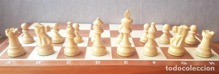 Juegos de mesa: Ajedrez Staunton Clásico con Tablero / Caja plegable de Madera - Foto 14 - 170251078