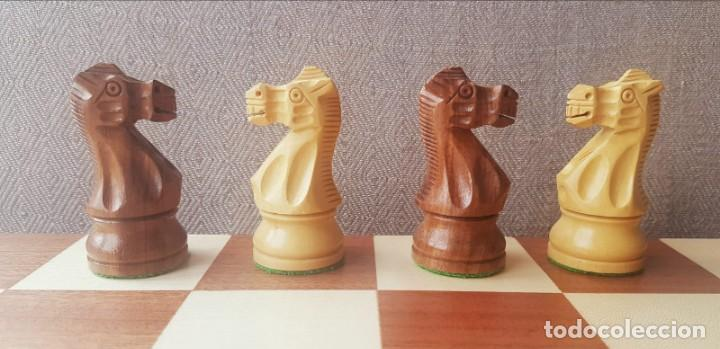 Juegos de mesa: Ajedrez Staunton Clásico con Tablero / Caja plegable de Madera - Foto 15 - 170251078