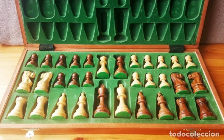 Juegos de mesa: Ajedrez Staunton Clásico con Tablero / Caja plegable de Madera - Foto 16 - 170251078