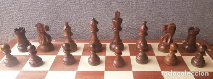Juegos de mesa: Ajedrez Staunton Clásico con Tablero / Caja plegable de Madera - Foto 17 - 170251078