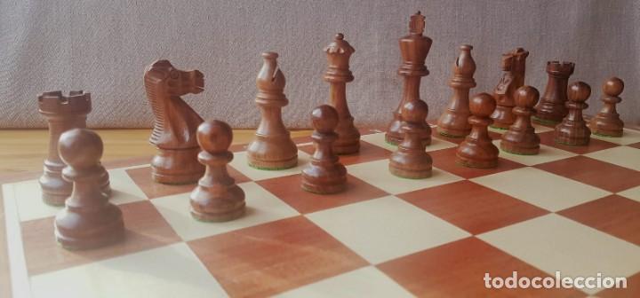 Juegos de mesa: Ajedrez Staunton Clásico con Tablero / Caja plegable de Madera - Foto 18 - 170251078