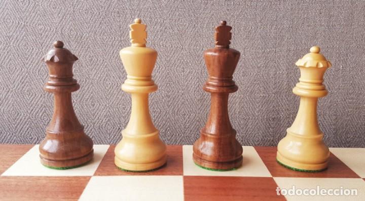 Juegos de mesa: Ajedrez Staunton Clásico con Tablero / Caja plegable de Madera - Foto 19 - 170251078