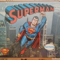 Juegos de mesa: SUPERMAN PAPIROTS JUEGO DE MESA SIN DESPRECINTAR NUEVO DE JUGUETERIA. Lote 170278578