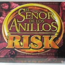 Juegos de mesa: JUEGO DE MESA RISK EL SEÑOR DE LOS ANILLOS PARKER 2002, COMPLETO. Lote 170334298