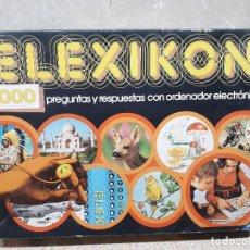 Juegos de mesa: ELEXIKON, JUEGO DE MESA DE EDUCA ( FUNCIONANDO ). Lote 170340744
