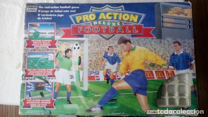 JUEGO FOOTBALL PRO ACTION FUTBOL DE LUXE PARKER AÑOS 90 (Juguetes - Juegos - Juegos de Mesa)