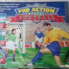 Juegos de mesa: JUEGO FOOTBALL PRO ACTION FUTBOL DE LUXE PARKER AÑOS 90. Lote 170384496