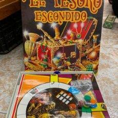 Juegos de mesa: EL TESORO ESCONDIDO, FALOMIR. LA CAJA MIDE 26X27CMS. Lote 170551636