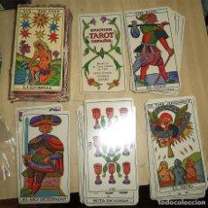 Juegos de mesa: JUEGO DE CARTAS TAROT ESPAÑOL FOURNIER 78 CARTAS CON INSTRUCCIONES. Lote 171064374