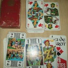 Juegos de mesa: JUEGO DE CARTAS TAROT COURVOISIER 78 CARTAS CON INSTRUCCIONES. Lote 171064662