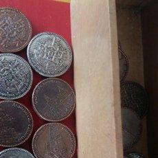 Juegos de mesa: FICHAS DE DAMAS,VALLADOLID. Lote 171115330