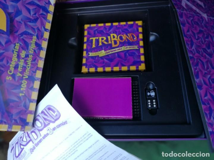 Juegos de mesa: Juego Tribond de Popular de Juguetes COMPLETO, BUEN ESTADO - Foto 3 - 171116390