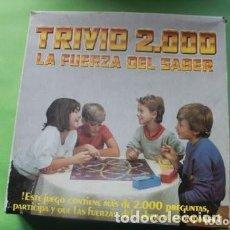 Juegos de mesa: JUEGO DE MESA TRIVIO 2000 DE FALOMIR JUEGOS - TIPO TRIVIAL PURSUIT . Lote 171168364