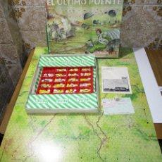 Juegos de mesa: JUEGO DE MESA EL ÚLTIMO PUENTE, 1944 LA BATALLA DE ARNHEM), WARGAME, ESTRATEGIA NAC 1984. Lote 171165244