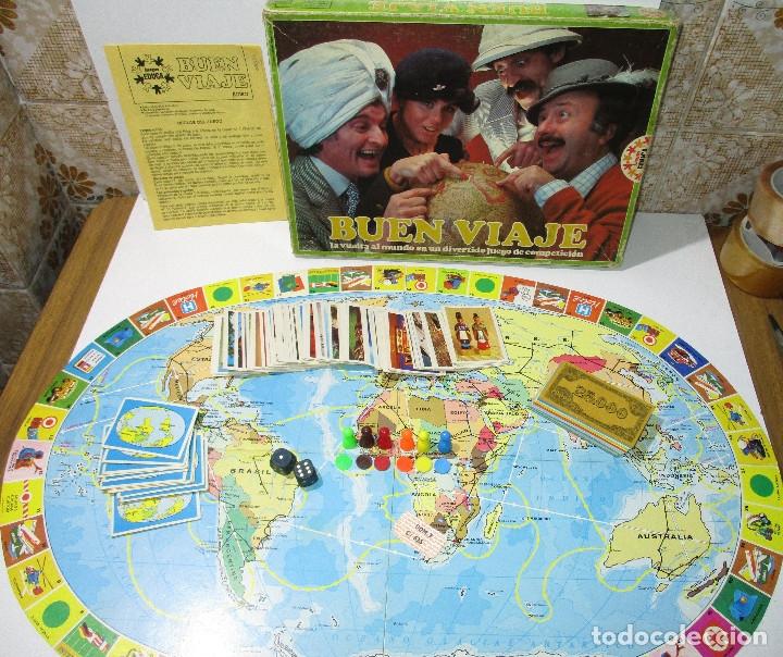 JUEGO DE MESA BUEN VIAJE DE EDUCA,AÑO 1980 (Juguetes - Juegos - Juegos de Mesa)