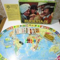 Juegos de mesa: JUEGO DE MESA BUEN VIAJE DE EDUCA,AÑO 1980. Lote 171272837