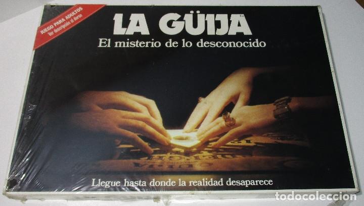 JUEGO DE MESA LA GÜIJA, EL MISTERIO DE LO DESCONOCIDO, OUIJA, DE BORRÁS, NUEVO, PRECINTADO (Juguetes - Juegos - Juegos de Mesa)