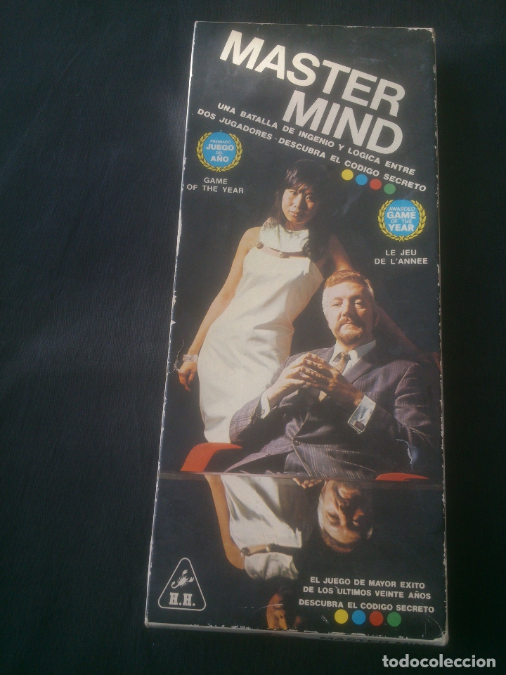 JUEGO DE MESA DE 1976. MASTER MIND (Juguetes - Juegos - Juegos de Mesa)