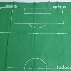 Juegos de mesa: JUEGO SUBBUTEO TAPETE TERRENO CAMPO DE JUEGO. FUTBOL. MEDIDAS 120 X 88 CMS. BORRAS. Lote 171657824