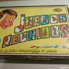 Juegos de mesa: JUEGOS REUNIDOS GEYPER. Lote 171715558