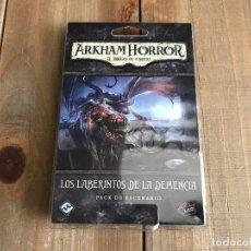 Juegos de mesa: ARKHAM HORROR LCG - LOS LABERINTOS DE LA DEMENCIA - JUEGO DE CARTAS - FFG - PRECINTADO. Lote 171742107