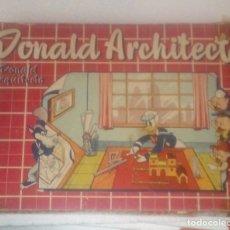 Juegos de mesa: JUEGO DE CONSTRUCCION DONALD ARCHITECT AÑOS 60. Lote 172217552