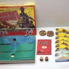 Juegos de mesa: JUEGO DE LAS BATALLAS NAVALES - MIRAR FOTOS ADICIONALES. Lote 172336167