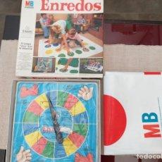 Juegos de mesa: ANTIGUO JUEGO DE MESA ENREDOS MB VINTAGE AÑOS 80. Lote 172366028