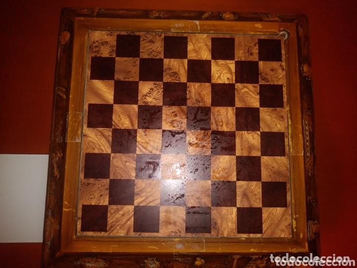 Juegos de mesa: Tablero ajedrez madera - Foto 4 - 172372133