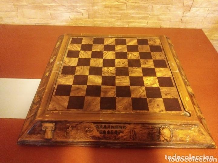 Juegos de mesa: Tablero ajedrez madera - Foto 5 - 172372133