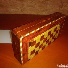 Juegos de mesa: TABLERO RUSO DE AJEDREZ, DAMAS Y BACKGAMMON.. Lote 172372265