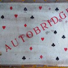 Juegos de mesa: AUTOBRIDGE. Lote 172426798