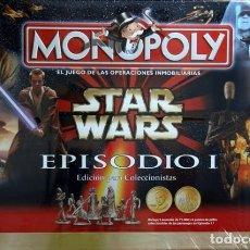 Juegos de mesa: COLECCIONISTAS STAR WARS--MONOPOLY STAR WARS EPISODIO I---PRECINTADO DE ORIGEN. Lote 172578880